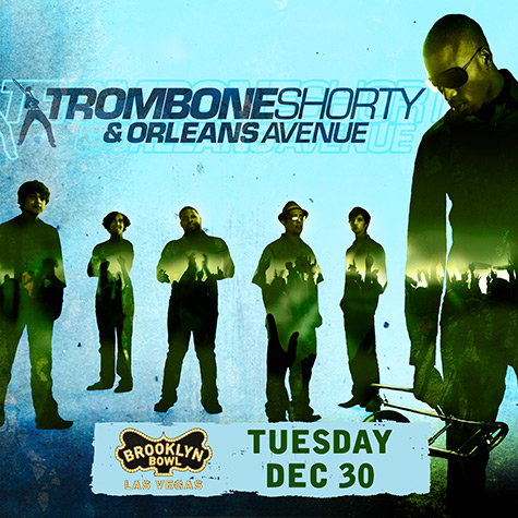Trombone Shorty in Las Vegas